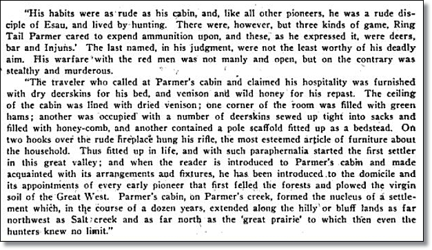 General Slack's Account of Martin Parmer