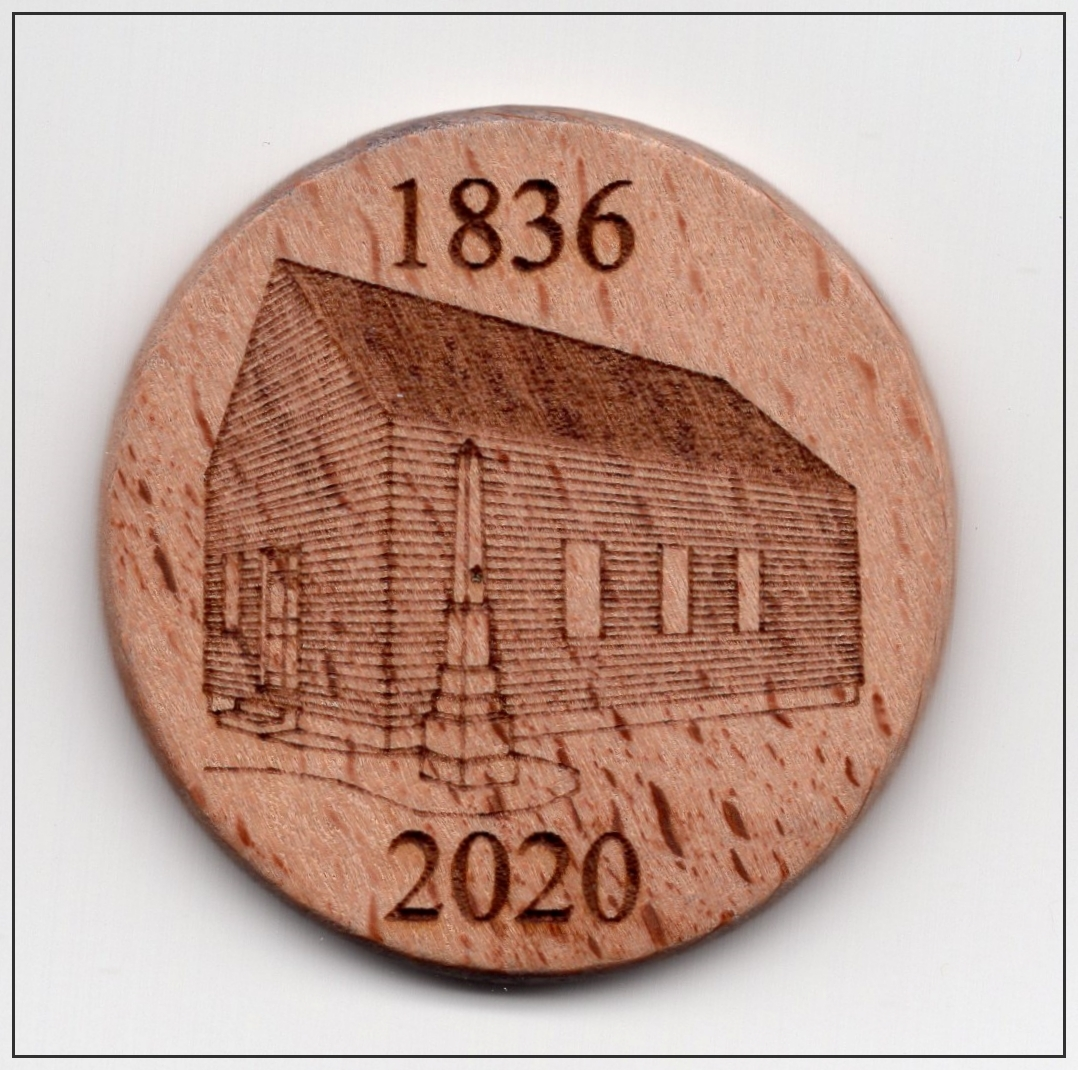 2020 Washington Lodge #18 Presentation Coin Reverse